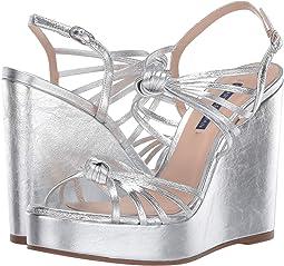 Silver Crinkle Metallic