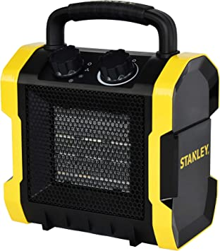 STANLEY ST-222A-120 Electric Heater, Black, Yellow: image