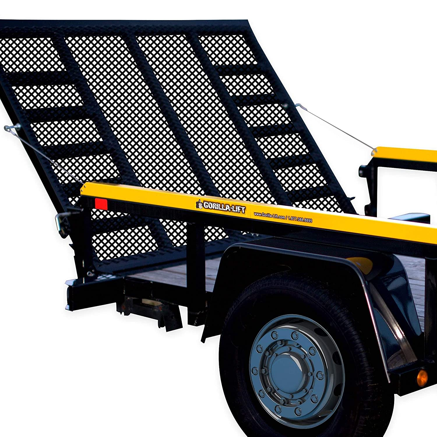 Official GORILLA-LIFT 2-Sided Tailgate Trailer Utility Max 68% OFF Gate R SEAL limited product