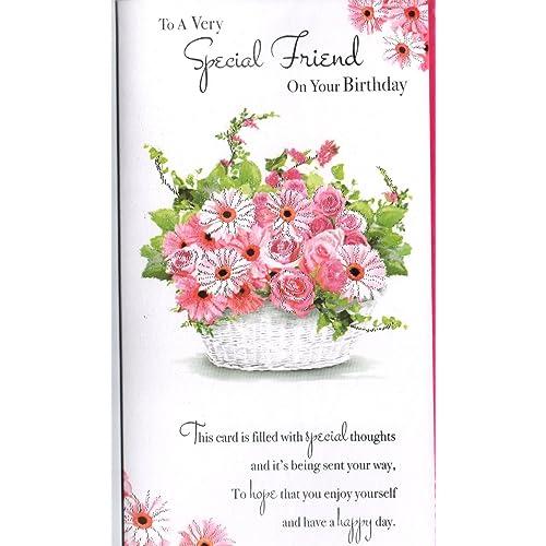 Special Friend Birthday Card Amazoncouk