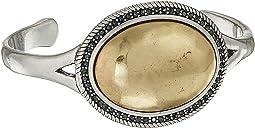 Gem Pave Cuff Bracelet