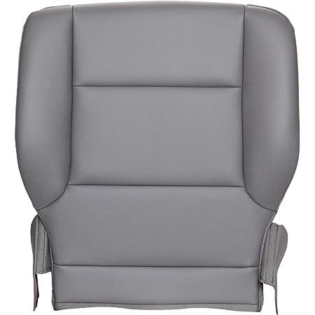 2015-2017 GMC Sierra 3500HD Single Cab W//T Driver Bottom Vinyl Seat Cover Gray