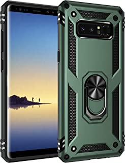 Sponsored Ad - Konyaoo for Galaxy Note 8 case, withShockproof and Sturdy Armored Double-Layer Plastic TPU Cover Ring, for ...