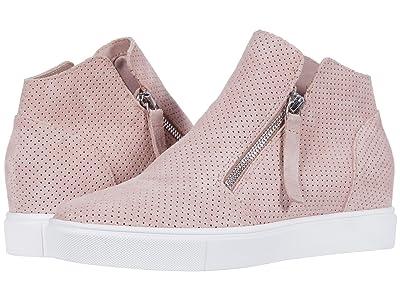 Steve Madden Caliber Wedge Sneaker (Mauve Suede) Women