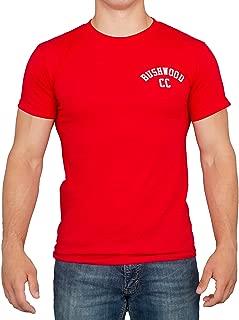 Bushwood CC Back Print Red Adult T-Shirt Tee