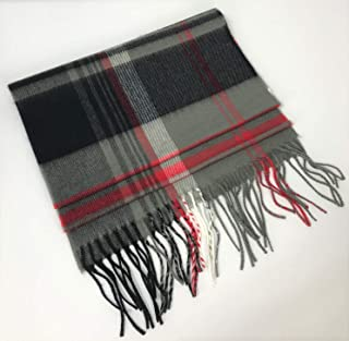 "100% Cashmere Scarf with Fringe 12"" x 64"""