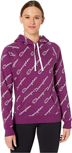 Champion Outline Script Venetian
