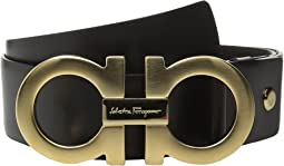 Salvatore Ferragamo Adjustable/Reversible Belt - 9220