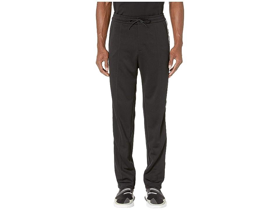 Image of adidas Y-3 by Yohji Yamamoto 3-Stripes Track Pants (Black) Men's Casual Pants