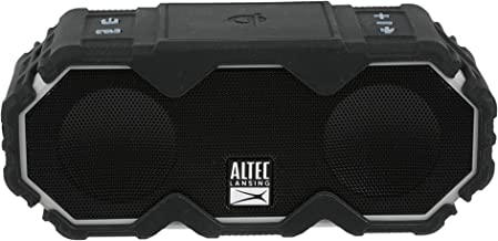 Altec Lansing Mini LifeJacket Jolt Bluetooth Speaker with Qi, Wireless, Waterproof,..