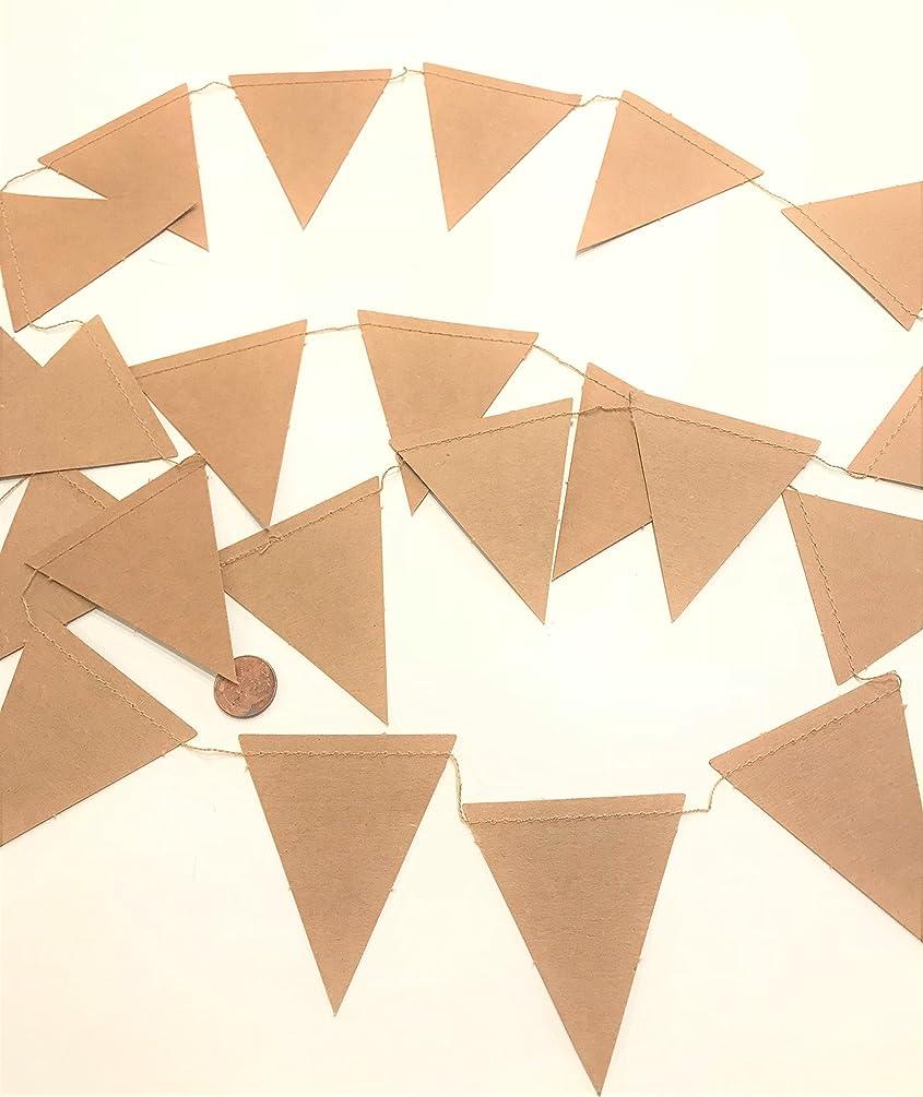 Kraft Paper Banner, Pennant 6 Ft, Banner, Plain, Decor, Backdrops, Nursery, Showers, Birthday, decorations, wedding receptions