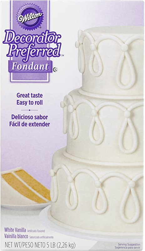 Wilton Decorator Preferred White Fondant 5 Lb