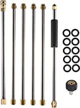 Tool Daily Pressure Washer Extension Wand, 90 Inch Power Washer Lance, 1/4 Inch Quick Connect, M22, 4000 PSI