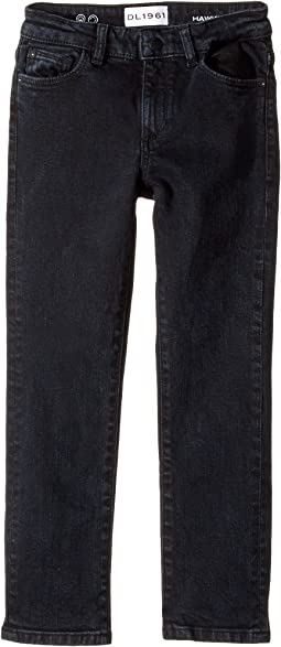 DL1961 Kids - Hawke Skinny in Carbon (Toddler/Little Kids/Big Kids)