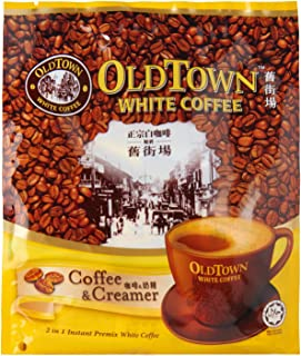 Malaysia Old Town White Coffee/2 In 1 Coffee & Creamer/Great Taste, Full Body White Coffee Minus The Sugar/Great Choice For The Health Conscious/15s x 25g