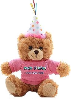 fd45788262a Plushland Plush Teddy Bear 6 Inches - Mocha Color for Birthday