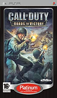 call of duty road to victory (platinum) (PSP) [UK IMPORT]