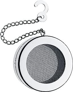 WMF 福腾宝 LiberTea系列滤茶器 茶叶球 带链条 ?5,0cm Cromargan抛光不锈钢,机洗安全