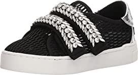 Jewel Strap Mesh Sneakers