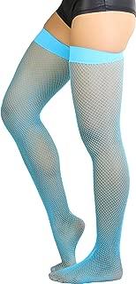 Women's Nylon Fishnet Thigh Highs