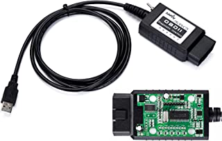 bbfly-BF32302 USB modified FTDI chip OBD-II Scan Tool for Windows ELMconfig Forscan HS-CAN / MS-CAN Ford Mazda OBD2