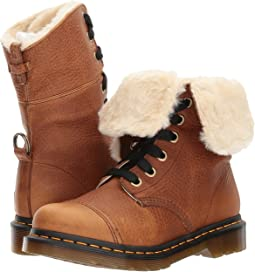 Aimilita FL 9-Eye Toe Cap Boot