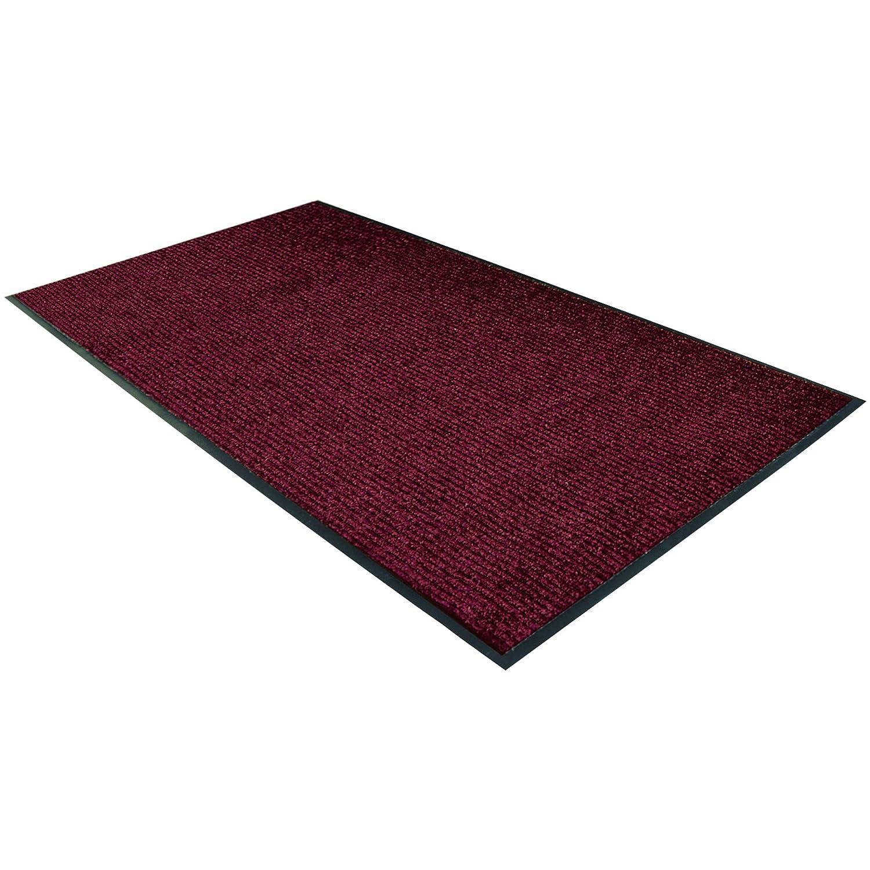 Partners Brand PMAT382RD Popular Deluxe Vinyl Carpet Red x 5' Very popular Mat 3'