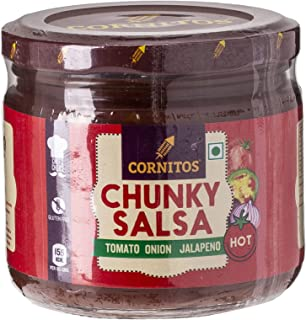 CORNITOS Chunky Salsa Hot, 330 gm