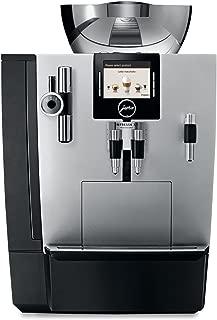 Jura 16367 IMPRESSA XJ9 Automatic Coffee Machine, Brilliant Silver