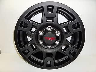 trd pro wheels matte black