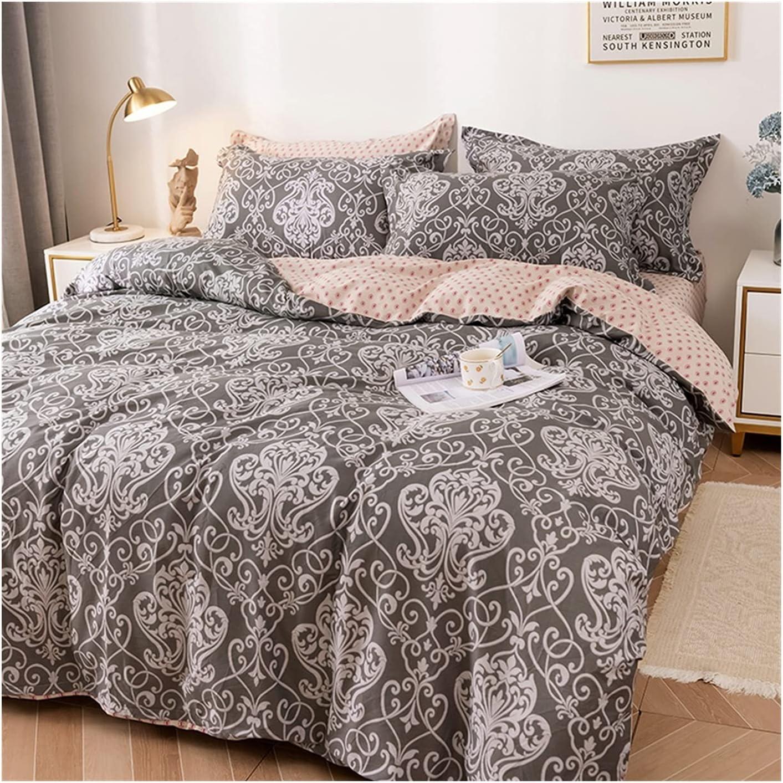70% New York Mall OFF Outlet MZP 4pcs Bedding Duvet Cover Set Quilt Cotton 100% Floral Flower