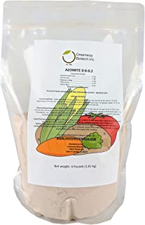 "Azomite Rock Dust Volcanic Ash (Certified Dealer) Organic Trace Minerals""Greenway Biotech Brand"" 4 Pounds"