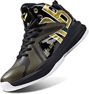 Kid's Basketball Shoes High-Top Sneakers Outdoor Trainers Durable Sport Shoes(Little Kid/Big Kid)