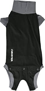 Kruuse Buster Body Suit for Dogs, Black/Grey