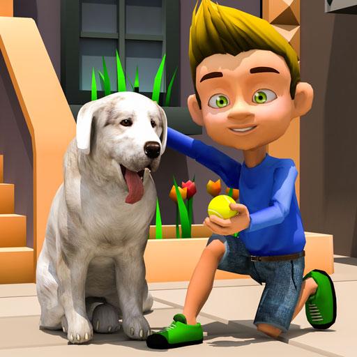My Virtual Pet Dog Simulator Animal Escape & Pet Rescue : Puppy Games Free