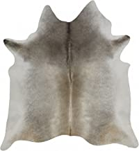 RODEO Elegant Cowhide Rug Elephant Grey (5X7)