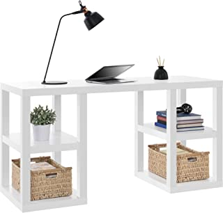 Ameriwood Home Parsons Deluxe Desk, White