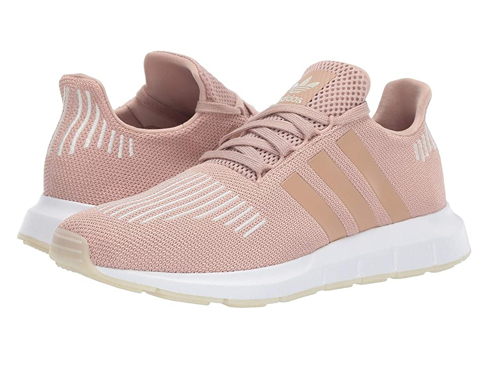 adidas Originals Swift Run W (Ash Pearl S18/Off-White/Footwear White) Women's Shoes, Pink