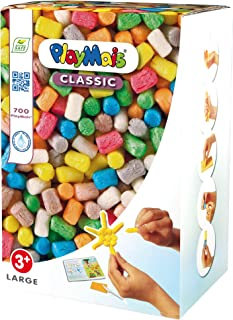 PlayMais Basic Large - A Box Full of Creativity - Educational Arts and Crafts Modeling Kit