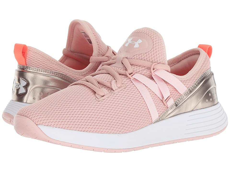 Under Armour UA Breathe Trainer (Flushed Pink/Metallic Faded Gold/White) Women