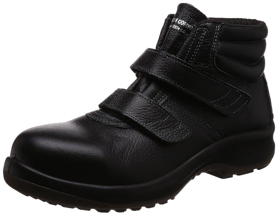 ガウンアジア人会う[ミドリ安全] 安全靴 JIS規格 中編上靴 プレミアムコンフォート PRM225 メンズ
