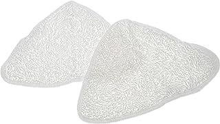 2 x compatible microfibre chiffon Nettoyeur Vapeur Pads fits Bissell 65A8 90Y5 nettoyeur vapeur