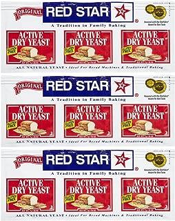 Red Star GlutenFree Active Dry Yeast, 0.75 oz, 3 ct, 3 pk