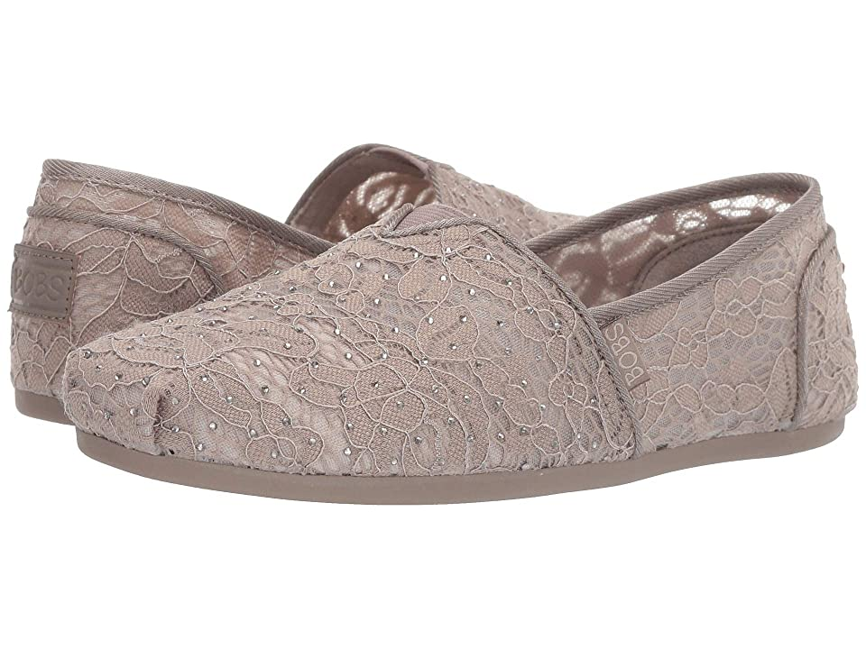 BOBS from SKECHERS Bobs Plush (Taupe) Women