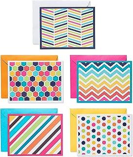 American Greetings Tarjetas de patrón brillante y sobres