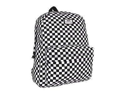 Vans Old Skool II Backpack (Black/White Check) Backpack Bags