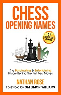 Chess Opening Names: The Fascinating & Entertaining History Behind The First Few Moves (English Edition)