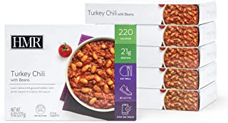 HMR Turkey Chili with Beans Entree, 8 oz. Servings, 6 Count