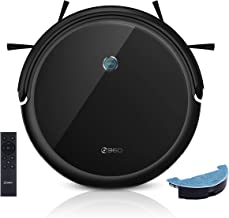 360 C50 Robot Vacuum and Mop, 2600 Pa, Zigzag Route Cleaning, Spot, Schedule, Deep Cleaning, Remote Control, Works with Al...