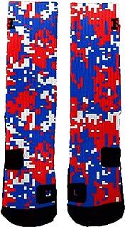Brand Athletic Socks USA Digital Camo
